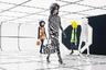 В этом году модный дом Moncler, чей показ был одним из самых ожидаемых в первый день Недели моды, представил сразу 12 коллекций, разработанных совместно с дизайнерами со всего мира. Одним из них стал британец Ричард Куинн. Известный своей страстью к цветочным принтам модельер вдохновился космической эрой 1960-х годов и добавил в свои творения любимый избыточный орнамент.
