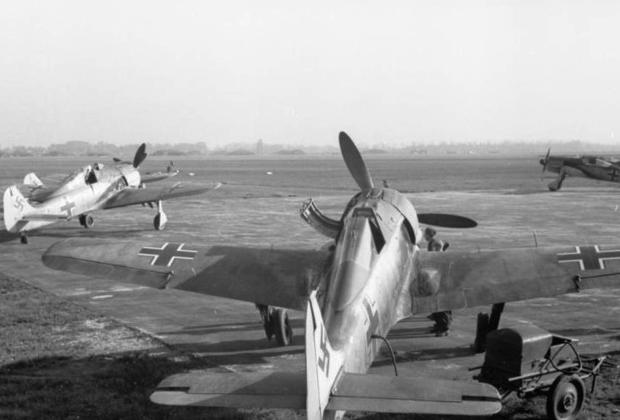 Немецкие истребители «Фокке-Вульф-190»