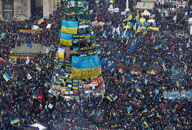 Евромайдан, 8 декабря 2013 года