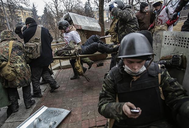 Оппозиция. 20 февраля 2014 года, Майдан, Киев