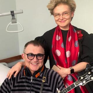 Дмитрий Дибров и Елена Малышева