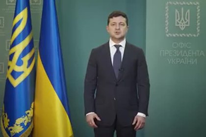 Зеленский обратился к нации после бунта украинцев из-за коронавируса