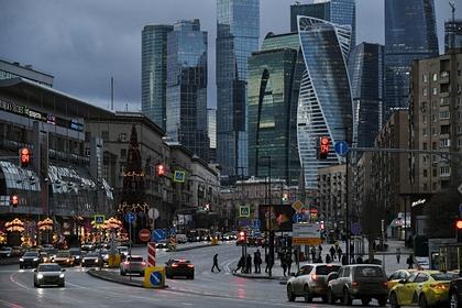 В «Москве-Сити» обрушилась часть конструкций