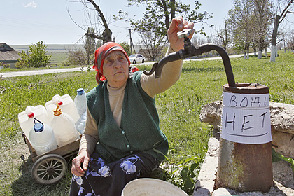 Украина сократила подачу воды в ЛНР