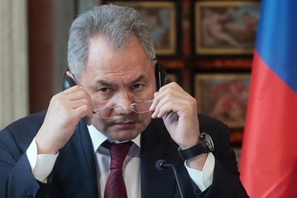 Шойгу обсудил с Турцией ситуацию в Идлибе