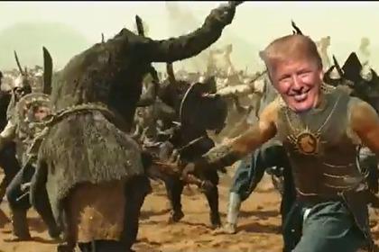 Трамп выложил болливудское видео с собой в главной роли