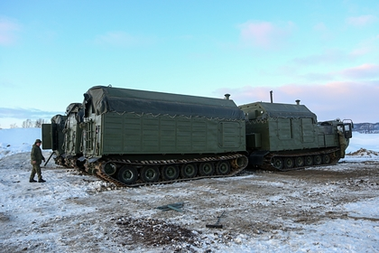 Российские военные получат арктические кухни-вездеходы