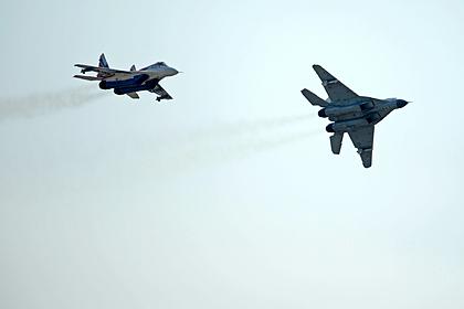 В Индии упал МиГ-29К