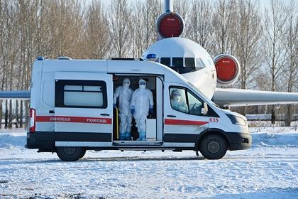 Эвакуированной из-за коронавируса на Украину иностранке стало плохо