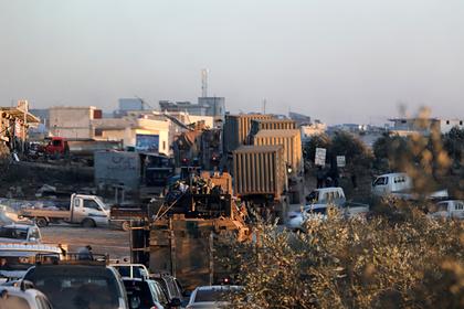 Турецкая колонна попала под удар сирийской армии в Идлибе