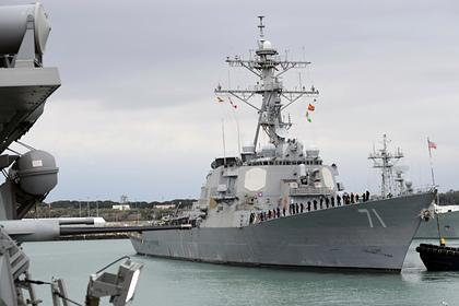 Американский ракетный эсминец вошел в Черное море