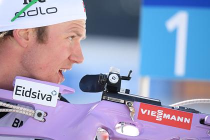 Норвежский биатлонист-чемпион вступился за Логинова