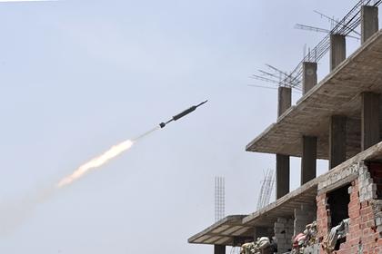 Дамаск обстреляли ракетами с Голанских высот