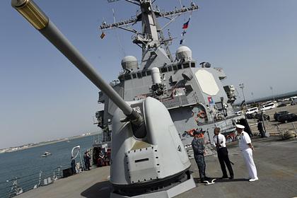 Заход американского ракетного эсминца в Черное море объяснили