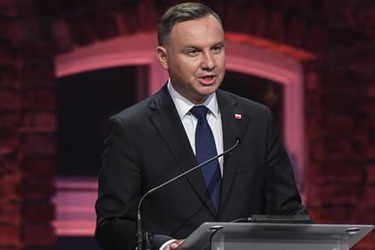 Президент Польши назвал Россию агрессором на Украине