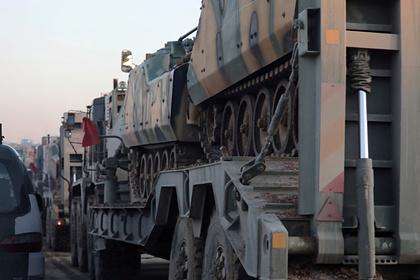 Турецкие военные атаковали сирийскую армию в Идлибе