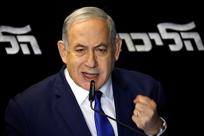 Нетаньяху пригрозил Палестине масштабной военной операцией
