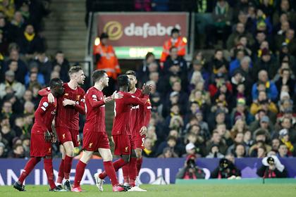 Видеотрансляция матча «Ливерпуль» — «Вест Хэм» пройдет онлайн