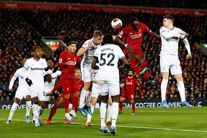 «Ливерпуль» вырвал победу у аутсайдера АПЛ и выиграл 18-й матч подряд