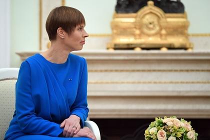 Эстония признала отсутствие территориальных претензий к России