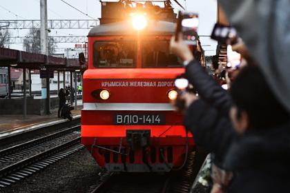 На поезда в Крым продали рекордное число билетов