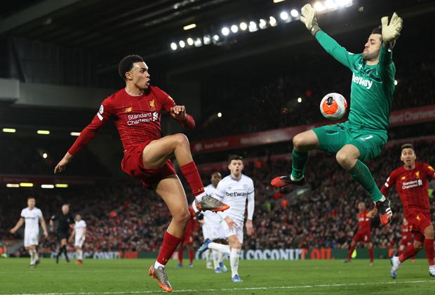 Матч «Ливерпуль» — «Вест Хэм»