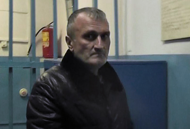 Георгий Углава (Тахи) после задержания