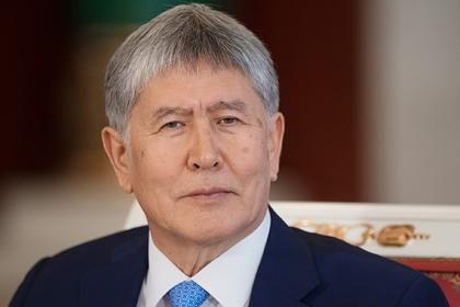 Экс-президенту Киргизии вручили обвинения по делу о беспорядках