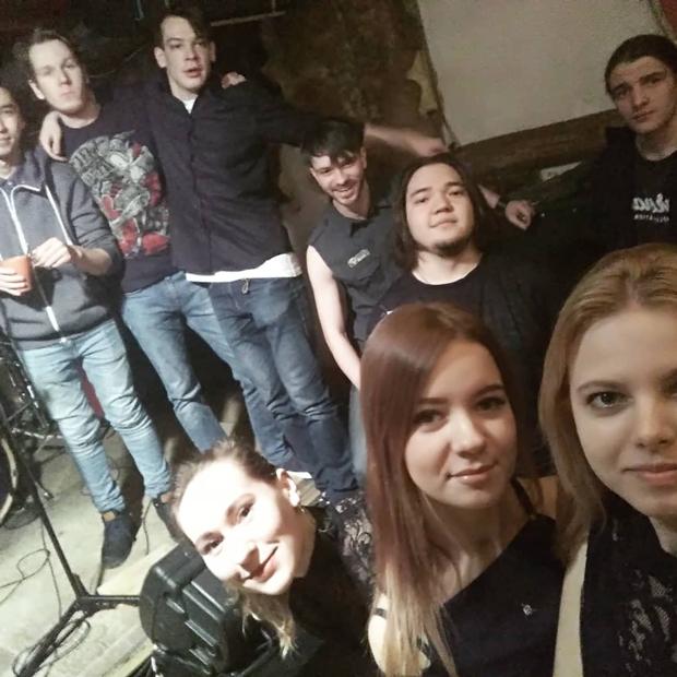 Дмитрий Федоров со своей группой Insomnia
