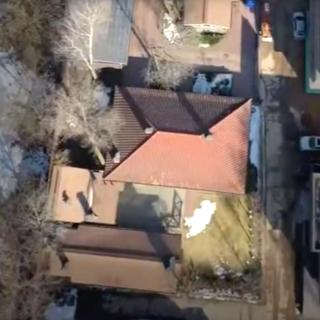 Вид на один из домов Терентьева