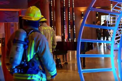 Жюри телешоу эвакуировали из-за газа утечки газа
