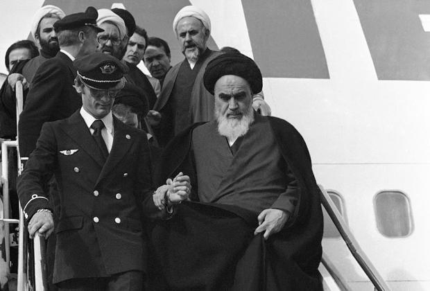 Возвращение Хомейни в Иран, 1979 год