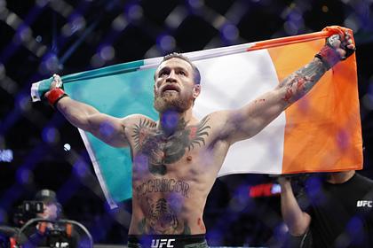Макгрегор начал переговоры о новом бое в UFC