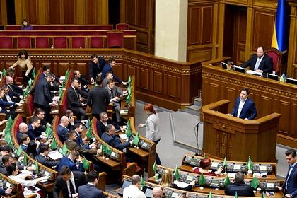 Украинские депутаты решили отстоять право на русский язык в Раде