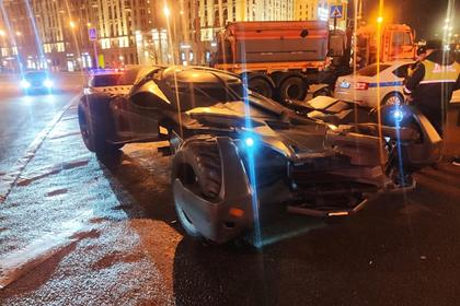 Московские гаишники забрали «Бэтмобиль»