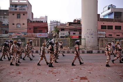 В мусульманских погромах в Индии погибли 18 человек