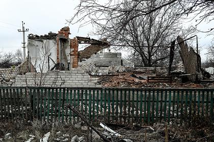 ДНР обвинила Украину в обстреле поселка