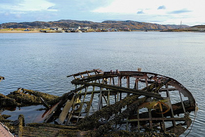 Кладбище кораблей в Териберке вошло в топ самых фотогеничных локаций России