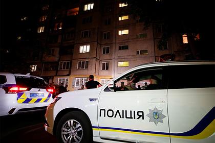 В центре Киева нашли труп бизнесмена с пистолетом-пулеметом