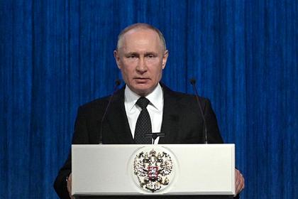 Путин потребовал пресечь произвол полицейских