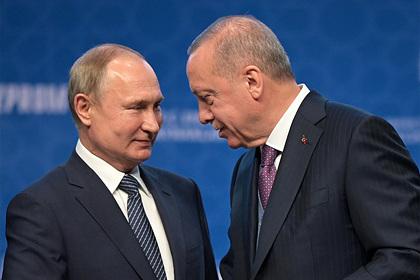 Эрдоган обозначил дату личной встречи с Путиным