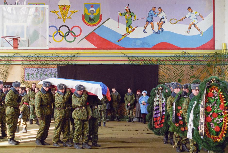 Похороны десантников
