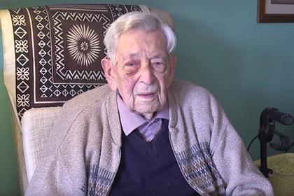 Самым старым мужчиной в мире стал 111-летний британец