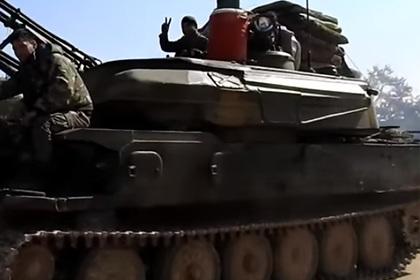 Сирия бросила в бой «Шилку», «Гвоздику» и Т-72