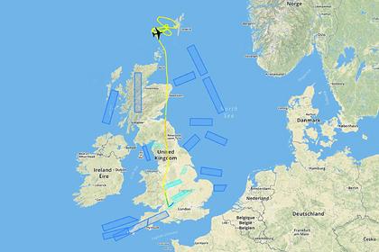 Пролетающий российский самолет вынудил Великобританию поднять истребители