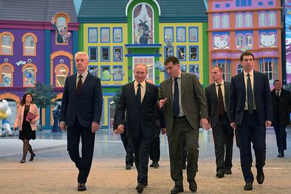 Путин посетил «Остров мечты»