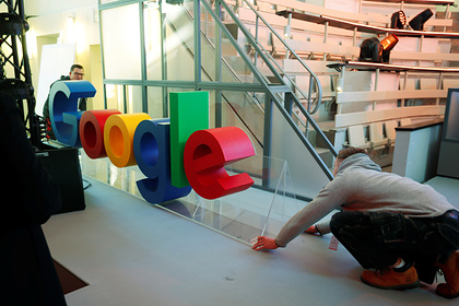 В России заблокировали счет Google