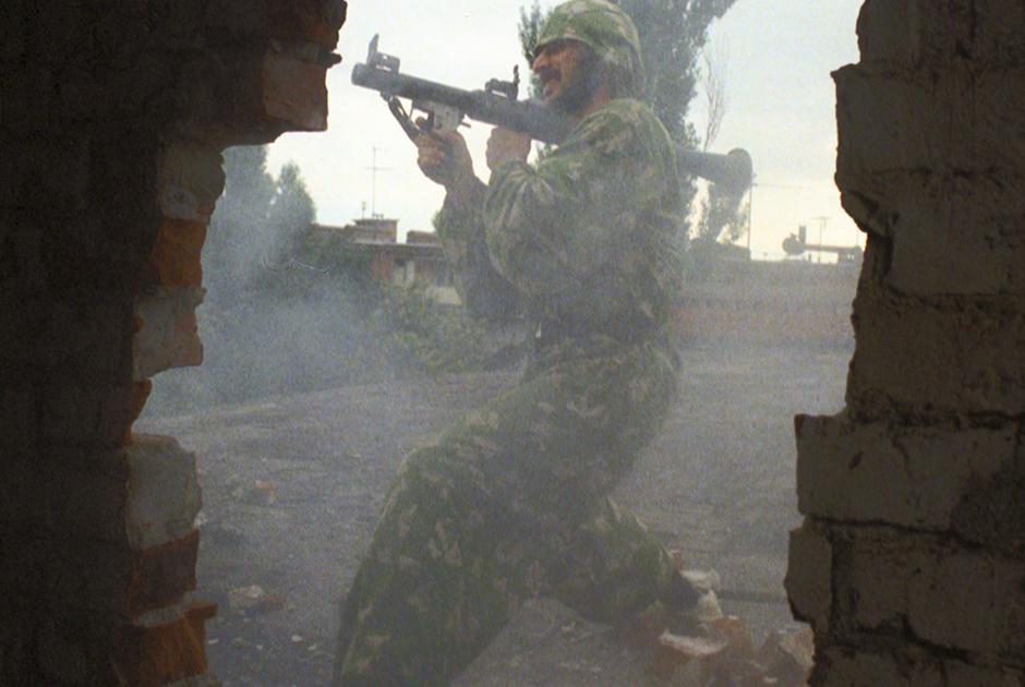 Бой в Старопромысловском районе. Участник незаконных вооруженных формирований
