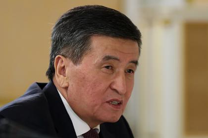 Президент Киргизии рассказал о сожалении из-за отставки Медведева