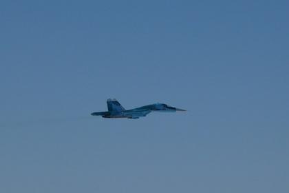 Япония показала сопровождение российского Су-34